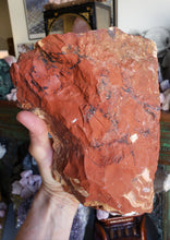 Load image into Gallery viewer, 6 pound 13 ounce Rough Red Jasper
