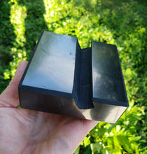 Load image into Gallery viewer, 1 pound Shungite Cell Phone Stand