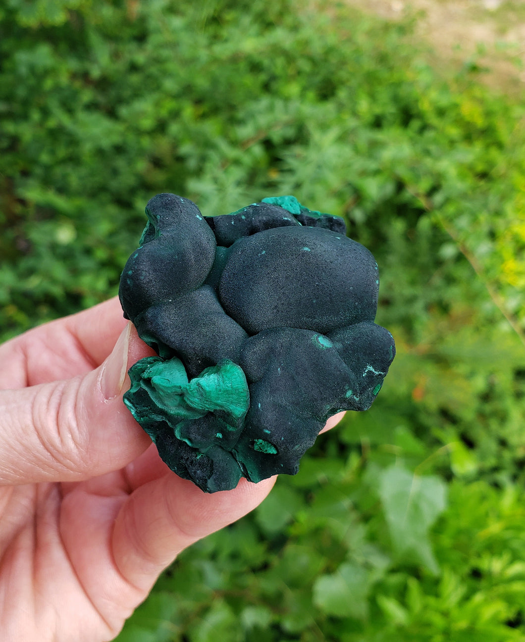 Malachite from Guangdong Province in China