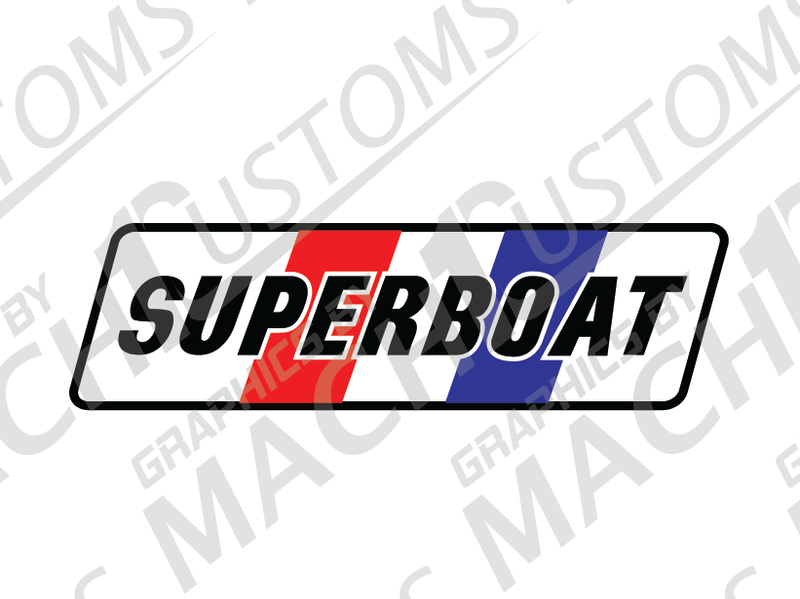 SUPERBOAT DECAL