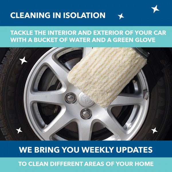 Your Isolation Cleaning Task for this Week: Your Car