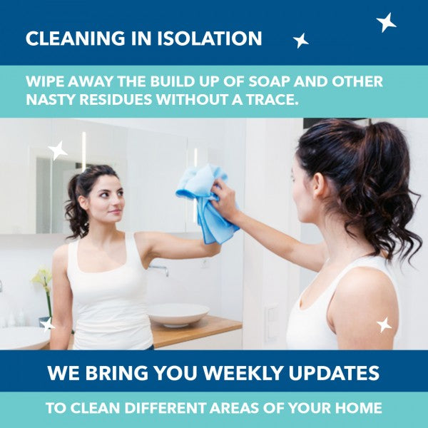 Your Isolation Cleaning Task for this Week: Your Bathroom