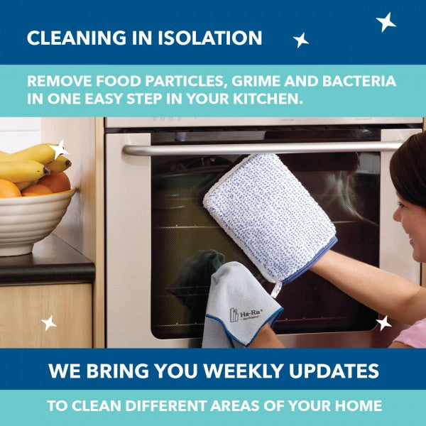 Your Isolation Cleaning Task for this Week: Your Kitchen