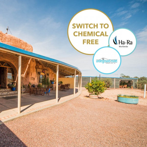 The iconic Underground Motel in Coober Pedy swears by Ha-Ra