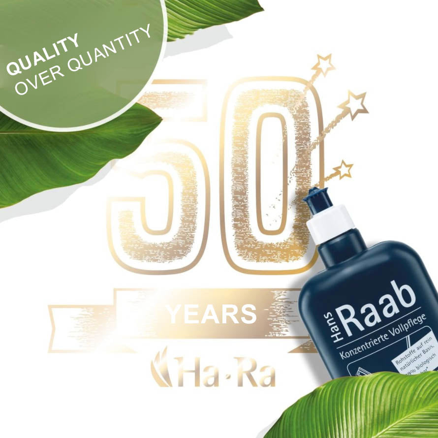 Celebrating more than 50 years Ha-Ra: The Original and Pioneer in chemical-free fibre cleaning technologies
