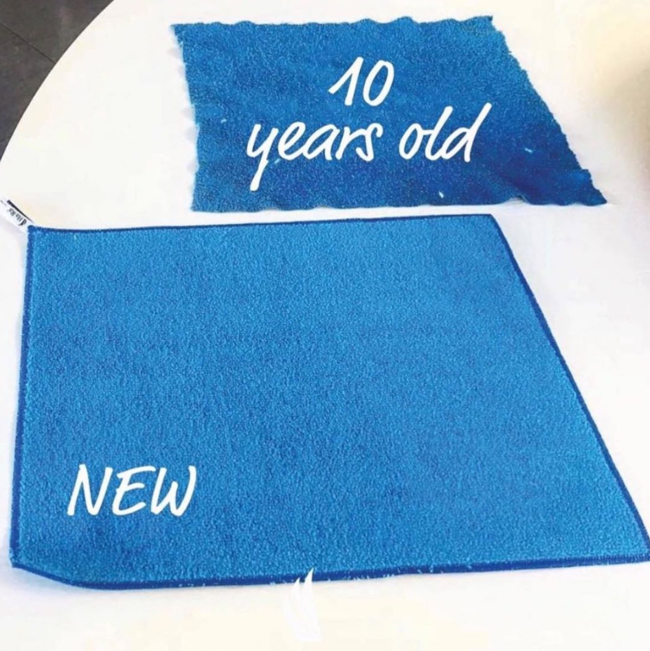 How to use Microfibre Cleaning Cloths