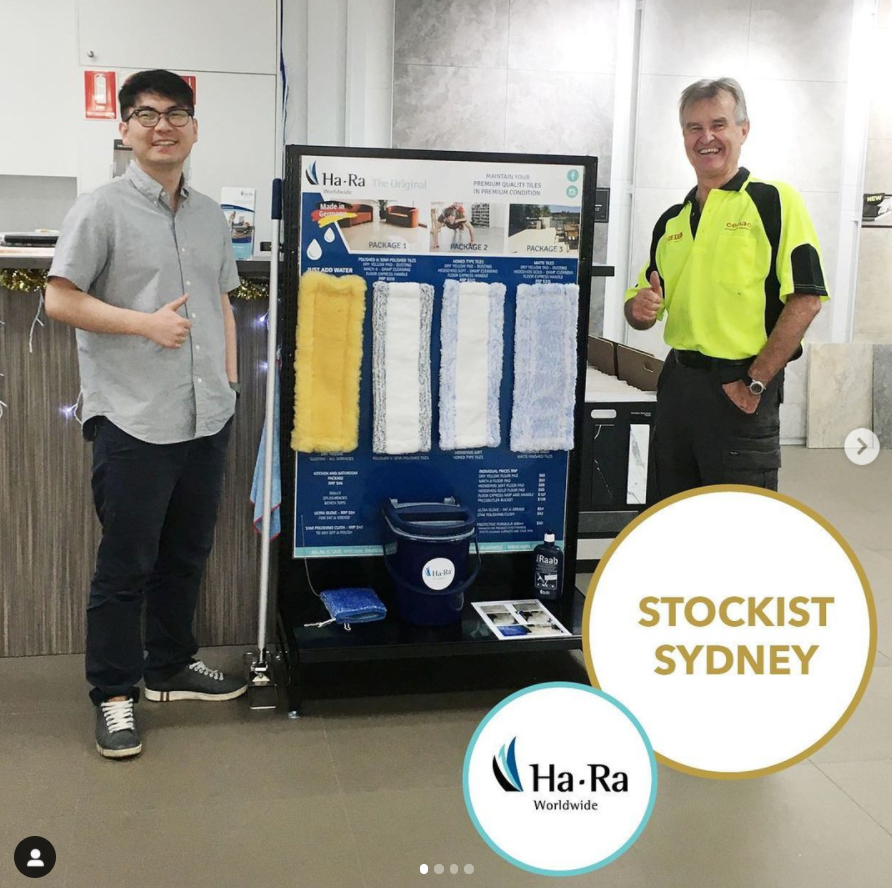 Ha-Ra welcomes new Distributor Eco Cleaning Systems in New South Wales