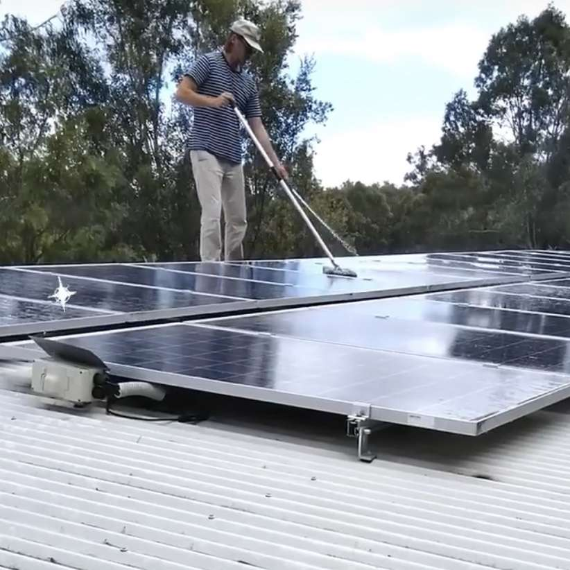 Spring Cleaning Solar Panels