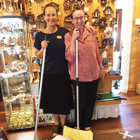 German Quality goes hand in hand for the Clock Shop in Montville