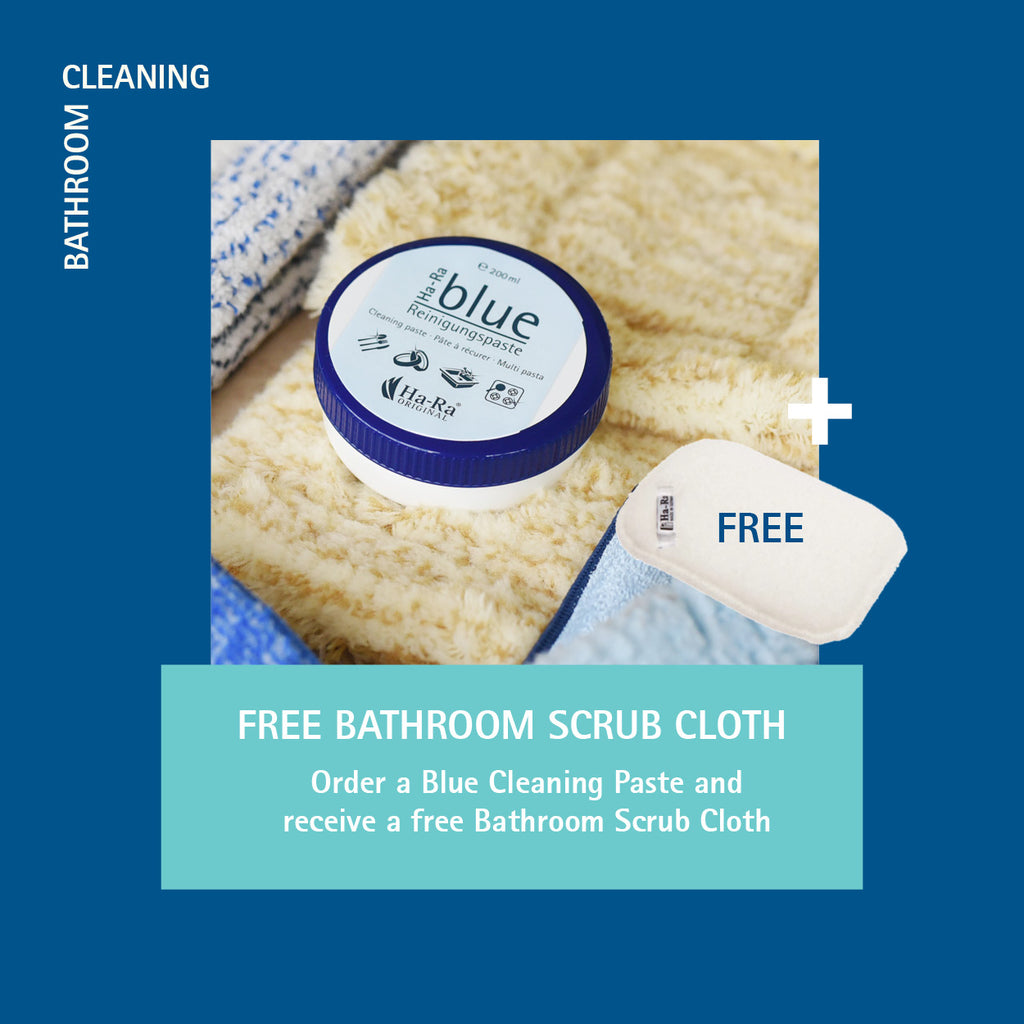 MAY SPECIAL: Blue Cleaning Paste + Free Bathroom Scrub Pad