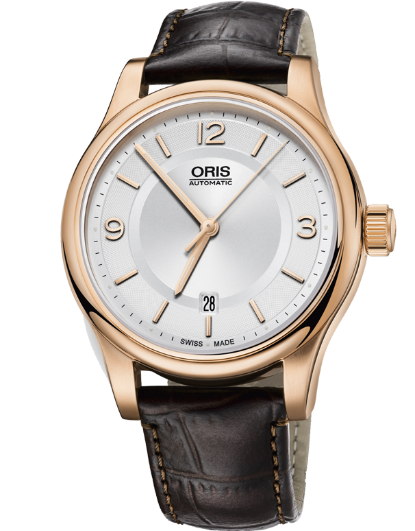 Oris Classic Date Watch - 01-733-7594-4831-07-6-20-12 - Salera's Melbourne, Victoria and Brisbane, Queensland Australia