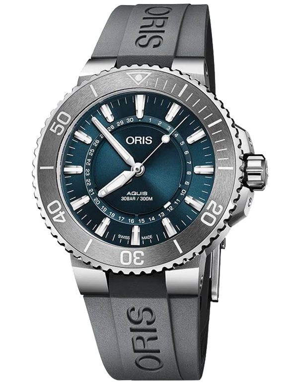Oris Aquis Date Source Of Life Limited Edition - 01-733-7730-4125-SET-RS - 767772