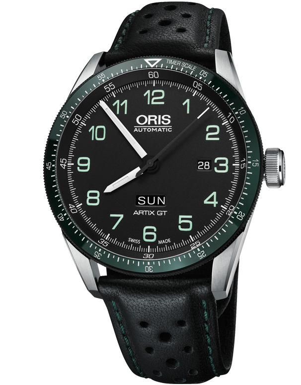Oris Calobra Day Date Limited Edition II - 01-735-7706-4494-Set-LS - 758838 - Salera's