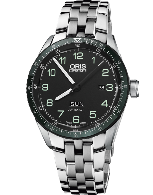 Oris Calobra Day Date Limited Edition II Watch - 01-735-7706-4494-Set-MB - Salera's Melbourne, Victoria and Brisbane, Queensland Australia
