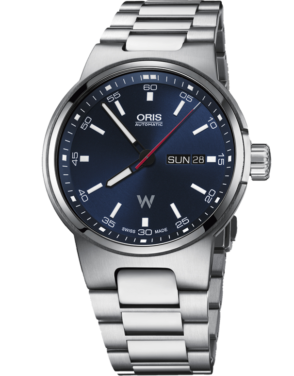 Oris Williams Day Date Watch - 01-735-7716-4155-07-8-24-50 - Salera's Melbourne, Victoria and Brisbane, Queensland Australia
