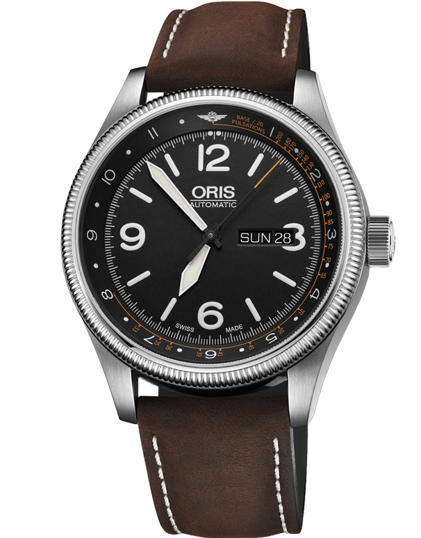 Oris Royal Flying Doctors Service Limited Edition Leather Strap 735-7728-4084-SET-LS