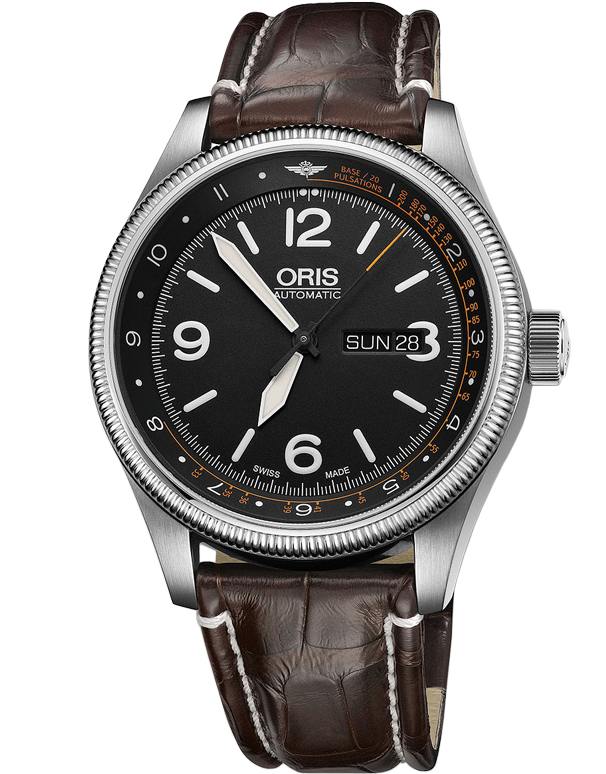 Oris Royal Flying Doctors Service Limited Edition Leather Strap 735-7728-4084-SET-LS-KROKO