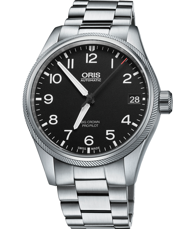 Oris Big Crown ProPilot Date - 01-751-7697-4164-07-8-20-19 - 762161 - Salera's