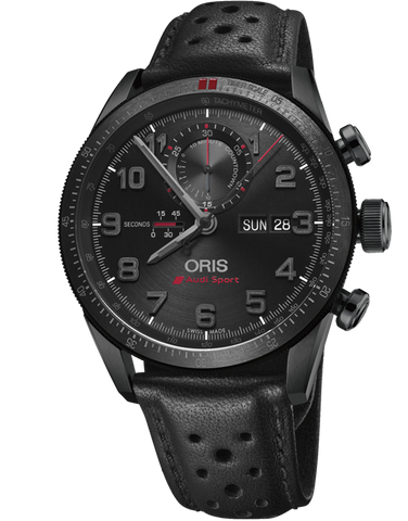Oris Audi Sport Limited Edition II Chronograph - 01-778-7661-7784-Set-LS