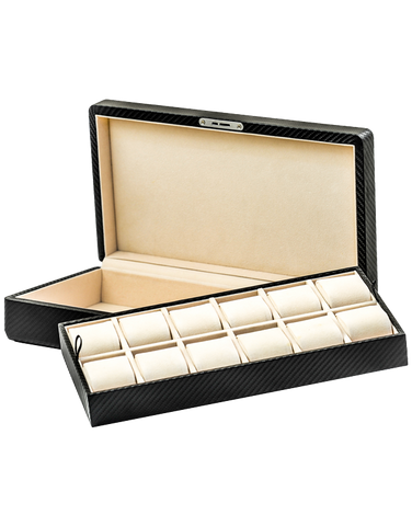 12x Watch Box (Carbon) - 751891