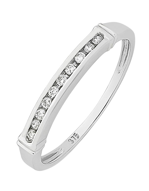 Diamond Ring - White Gold Diamond Ring - 130741 - Salera's Melbourne, Victoria and Brisbane, Queensland Australia