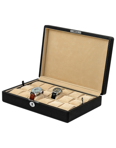 18x Watch Box (Carbon) - 754437