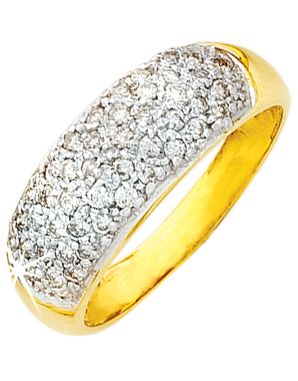 Diamond Ring - Yellow Gold Diamond Ring - 650054 - Salera's Melbourne, Victoria and Brisbane, Queensland Australia