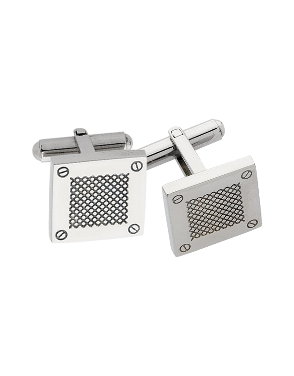 S-Steel Men's Cufflinks - 708473 - Salera's Melbourne, Victoria and Brisbane, Queensland Australia