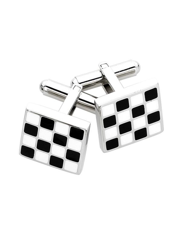 S-Steel Men's Cufflinks - 708474 - Salera's Melbourne, Victoria and Brisbane, Queensland Australia