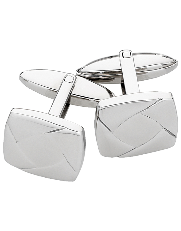S-Steel Men's Cufflinks - 708475 - Salera's Melbourne, Victoria and Brisbane, Queensland Australia