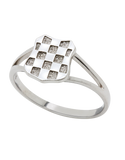 Sterling Silver Ring - Sterling Silver Croatian Ring - 741119