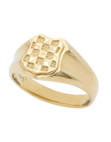 Gold Ring - 9ct Yellow Gold Croatian Ring - 741120