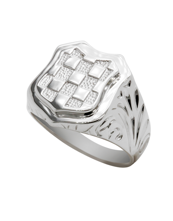 Sterling Silver Ring - Sterling Silver Croatian Ring - 741121