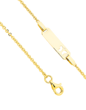 Gold Bracelet - Yellow Gold ID Charm Bracelet - 741668 - Salera's Melbourne, Victoria and Brisbane, Queensland Australia - 2
