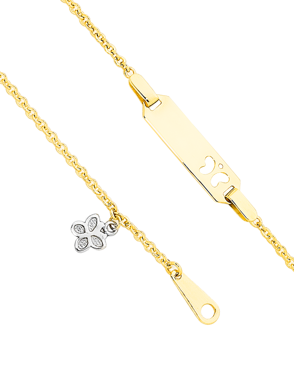 Gold Bracelet - Yellow Gold ID Charm Bracelet - 741668 - Salera's Melbourne, Victoria and Brisbane, Queensland Australia - 1