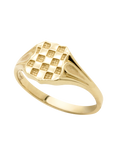 Gold Ring - 9ct Yellow Gold Croatian Ring - 742147