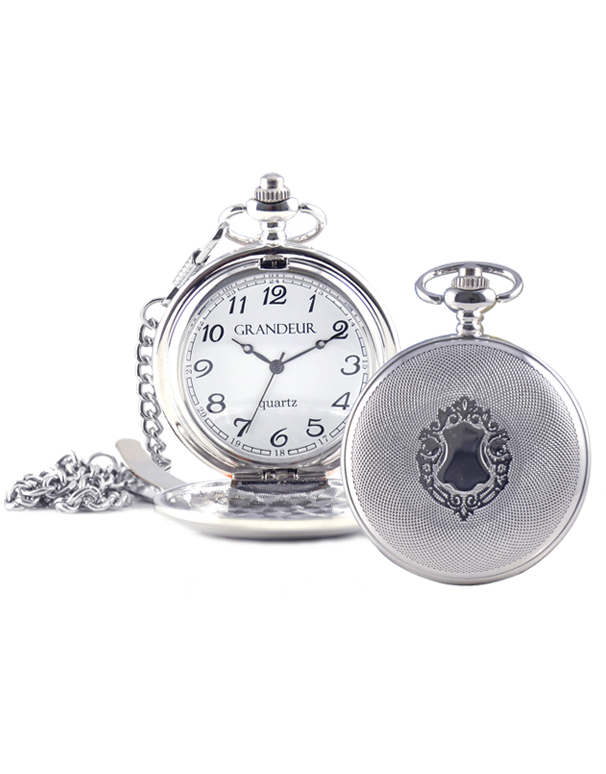 Divine - Engraved Pocket Watch - GW1045-2 - 747537  - Salera's Melbourne, Victoria and Brisbane, Queensland Australia