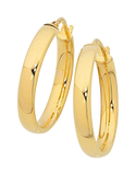 Gold Fusion Earrings - Gold Hoop Earrings - 748813 - Salera's Melbourne, Victoria and Brisbane, Queensland Australia - 1
