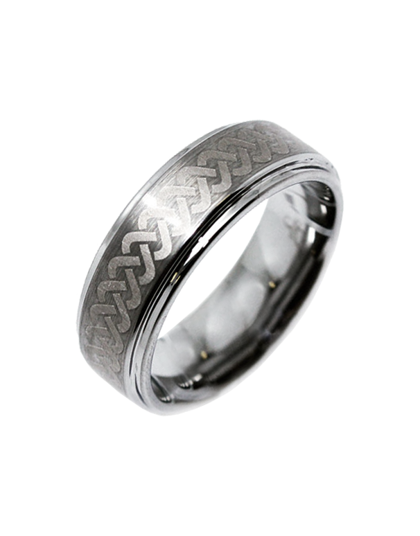 S-Steel Men's Tungsten Ring - 749842 - Salera's Melbourne, Victoria and Brisbane, Queensland Australia