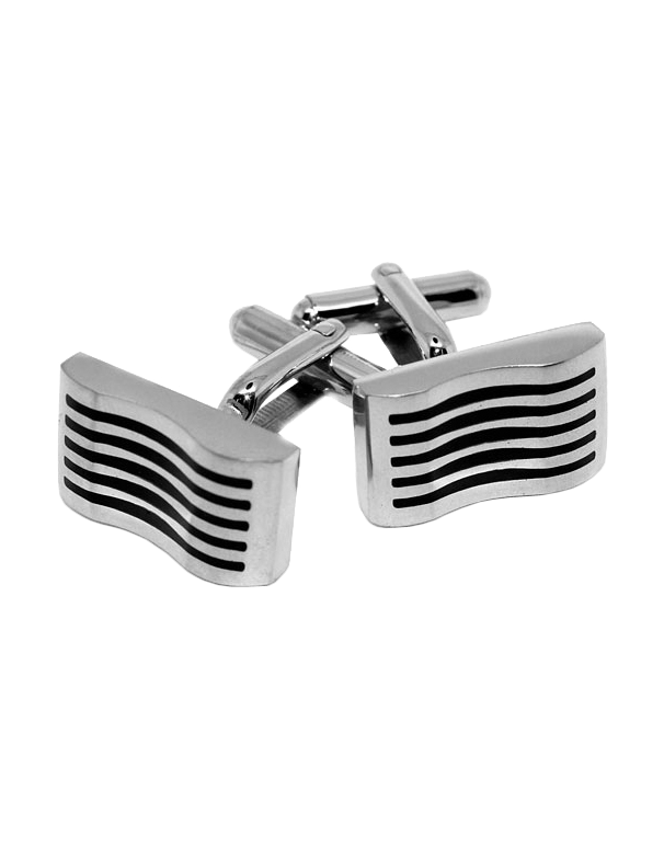 S-Steel Men's Cufflinks - 749845 - Salera's