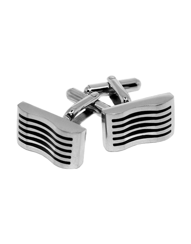 S-Steel Men's Cufflinks - 749845