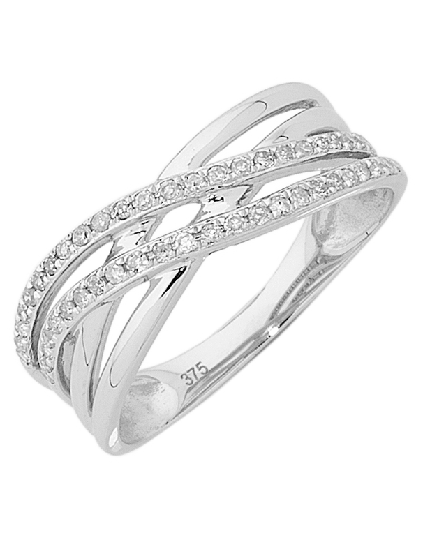 Diamond Ring - White Gold Diamond Ring - 754074 - Salera's