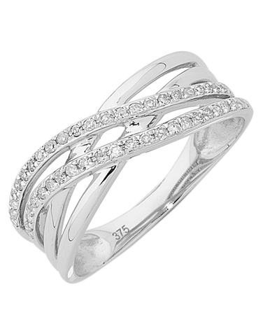 Diamond Ring - White Gold Diamond Ring - 754074