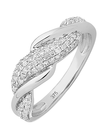 Diamond Ring - White Gold Diamond Dress Ring - 754084