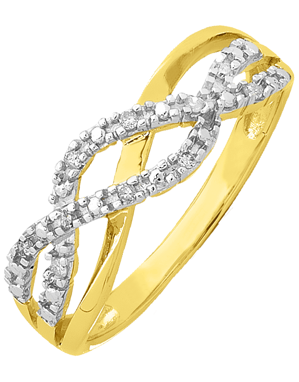 Diamond Ring - Yellow Gold Diamond Dress Ring - 754086 - Salera's Melbourne, Victoria and Brisbane, Queensland Australia