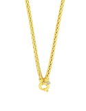 Gold Fusion Chain - 45cm Gold Chain - 754390 - Salera's Melbourne, Victoria and Brisbane, Queensland Australia - 2