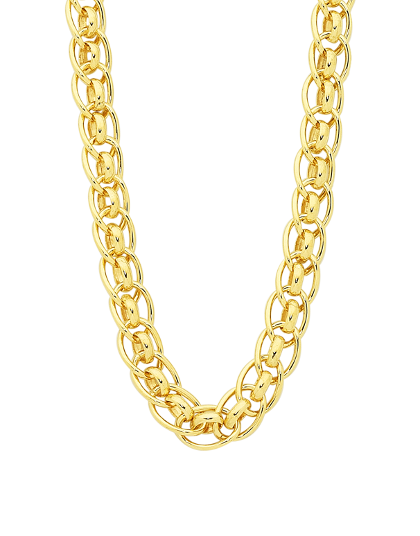 Gold Fusion Chain - 45cm Gold Fusion Necklet - 754394 - Salera's Melbourne, Victoria and Brisbane, Queensland Australia