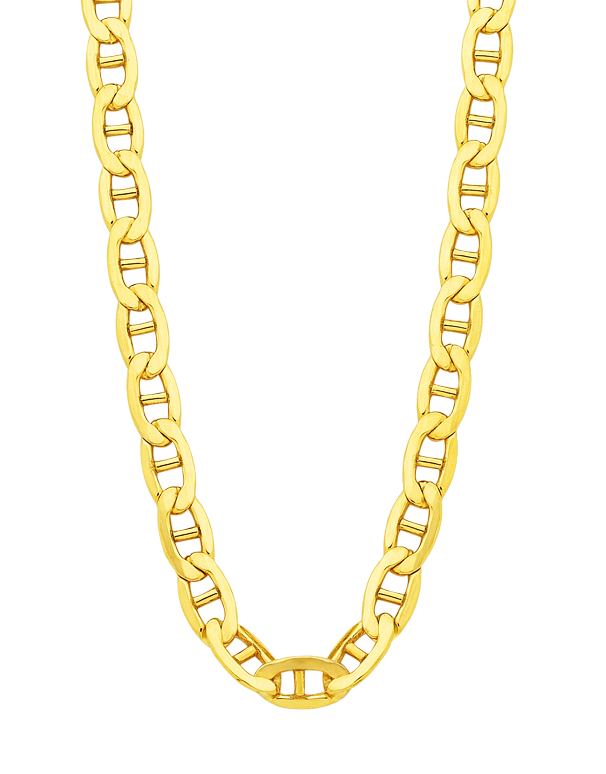 Gold Fusion Chain - Men's 55cm Anchor Link Chain - 754395 - Salera's Melbourne, Victoria and Brisbane, Queensland Australia