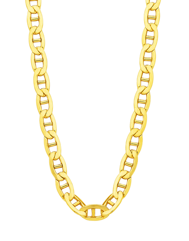 Gold Fusion Chain - Men's 55cm Anchor Link Chain - 754395