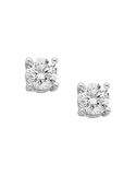 Diamond Studs - 0.50ct White Gold Diamond Studs - Salera's Melbourne, Victoria and Brisbane, Queensland Australia - 1